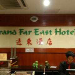 Photo taken at Grand Far East Hotel by Archenar V. on 8/1/2013