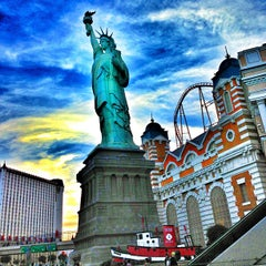 Photo taken at New York-New York Hotel & Casino by Matthew G. on 3/15/2013