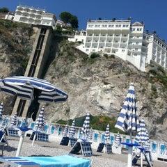 Photo taken at Lloyd's Baia Hotel by Silvia V. on 9/28/2012