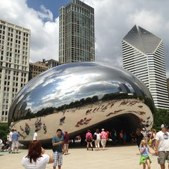 Photo taken at Millennium Park by Andy H. on 6/16/2013
