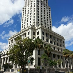 Photo taken at Miami-Dade County Courthouse by Pietro V. on 2/2/2013