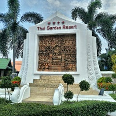 Photo taken at Thai Garden Resort (ไทยการ์เด้น รีสอร์ท) by Aleksandr S. on 10/3/2012