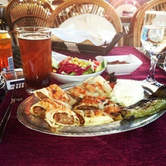 Photo taken at Konak Restaurant by Slle on 5/8/2013