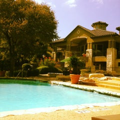 Photo taken at Gables at the Terrace Pool by Elizabeth on 10/5/2012