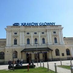 Photo taken at Kraków Główny by Michael F. on 4/22/2013