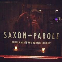 Photo taken at Saxon + Parole by Rev C. on 2/28/2013