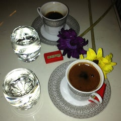 Photo taken at Saklı Bahçe Cafe&Nargile by Deniz on 1/1/2013