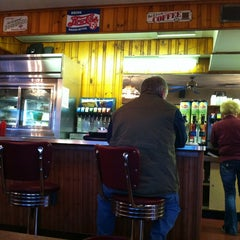 Photo taken at Top's Diner by Brian G. on 10/19/2012