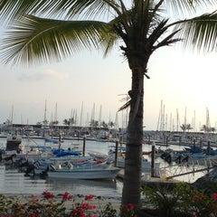 Photo taken at Marina Riviera Nayarit by Ricardo T. on 12/28/2012