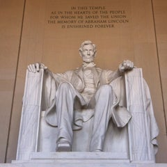 Photo taken at Lincoln Memorial by Isabela M. on 5/25/2013