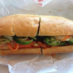 Photo taken at Saigon Sandwich by Lien P. on 5/19/2013