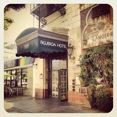 Photo taken at Hotel Figueroa by Rosa J. on 6/12/2013