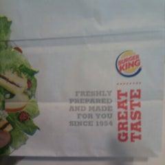 Photo taken at Burger King® by Sharmadevan S. on 9/25/2012