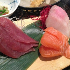 Photo taken at Ki Sushi & Sake Bar by E S. on 1/2/2013