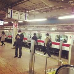 Photo taken at 朝霞台駅 (Asakadai Sta.) by o t. on 12/11/2012