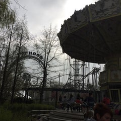 Photo taken at Bobbejaanland by Sander R. on 4/16/2015