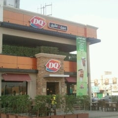 Photo taken at Dairy Queen | ديري كوين by Omar on 10/20/2012