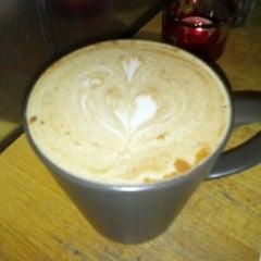 Photo taken at Namaste Cafe by jason w. on 11/30/2012
