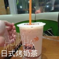 Photo taken at Ocha Tea Café by Jonas on 2/18/2013