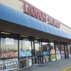 Photo taken at Liquor World by Jim W. on 2/1/2014