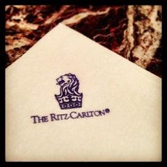 Photo taken at The Ritz-Carlton, Washington D.C. by Mitchell S. on 6/16/2013