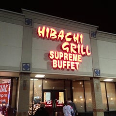 Photo taken at Hibachi Grill Supreme Buffet by Michael M. on 12/28/2012