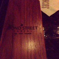 Photo taken at Bond Street Social by Thad C. on 1/12/2013