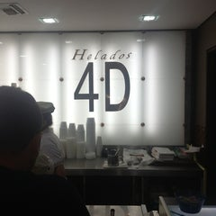 Photo taken at Helados 4D by Luis Henrique M. on 2/4/2013