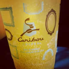 Photo taken at Caribou Coffee by Recliner Jockey on 6/26/2014
