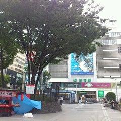 Photo taken at 新宿駅 (Shinjuku Sta.) by Daigo N. on 10/13/2012