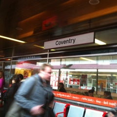 Photo taken at Coventry Railway Station (COV) by Crystal C. on 2/3/2013