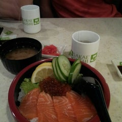 Photo taken at Sakae Sushi by Jean on 10/31/2012