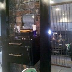 Photo taken at The Rat Pack Barbershop by Jun K. on 10/2/2012