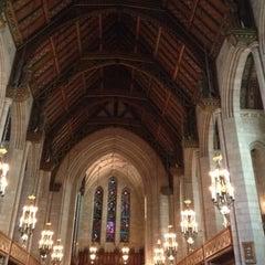 Photo taken at Fourth Presbyterian Church by Ryan P. on 10/20/2012