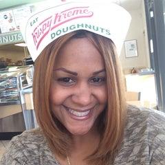 Photo taken at Krispy Kreme Doughnuts by Beyma S. on 10/18/2014