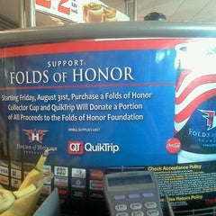 Photo taken at QuikTrip by Tena C. on 9/23/2012