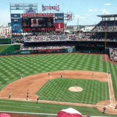 Photo taken at Nationals Park by Stephanie D. on 6/23/2013