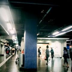 Photo taken at MTR Shau Kei Wan Station 筲箕灣站 by Ruskin on 11/3/2012