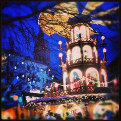 Photo taken at Christkindlmarkt by lovens on 12/21/2012