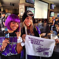 Photo taken at The West Wing @ The Parlor (Baltimore Ravens Bar) by Brian P. on 10/20/2013