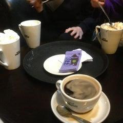 Photo taken at Caffè Nero by Dylan on 3/24/2013