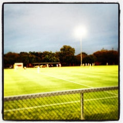 Photo taken at Houston Baptist University by James C. on 10/2/2013