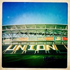 Photo taken at Talen Energy Stadium by David F. on 6/21/2012