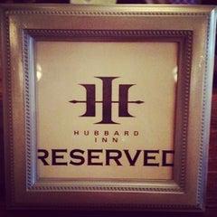 Photo taken at Hubbard Inn by Missy C. on 8/23/2012