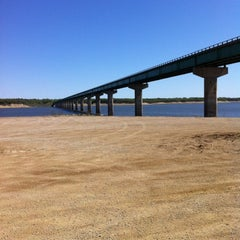 Photo taken at Mile Long Bridge by Scott J. on 4/8/2012