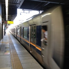 Photo taken at JR 宝塚駅 (Takarazuka Sta.) by mknt on 10/7/2012