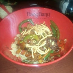 Photo taken at BangBang Mongolian Grill by eric h. on 10/5/2012
