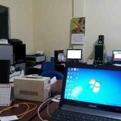 Photo taken at Mega Primavista, IT workshop by Gema P. on 9/27/2012