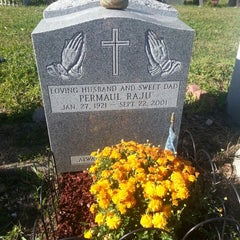 Photo taken at Lutheran-All Faiths Cemetery by John P. on 9/23/2012