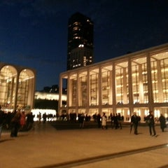 Photo taken at David Geffen Hall by Juan Guillermo G. on 10/10/2012